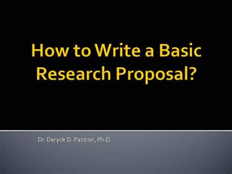 Data analysis section of research proposal